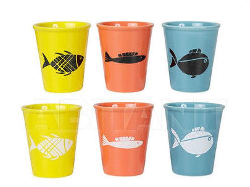 Set 6 chávenas de café com peixe