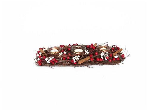 Veleiro com pau de canela e red berry