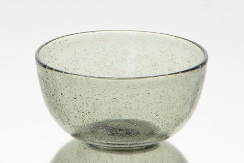 Taça vidro cinza