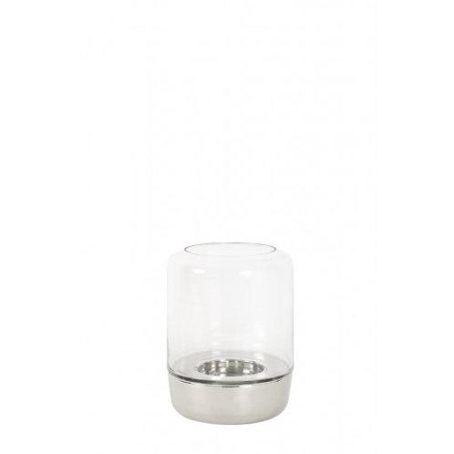 Veleiro de vidro e alumínio
