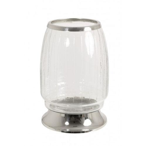 Veleiro de vidro e nickel