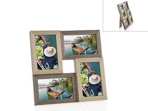 Moldura para 4 fotos 10x15cm