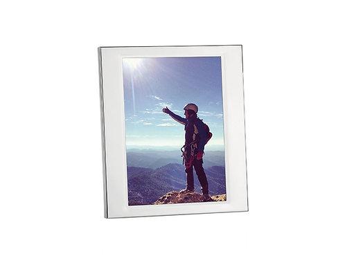 Moldura em inox para fotos 10x15cm