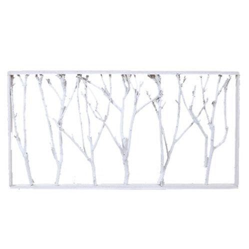 Quadro - árvore branca