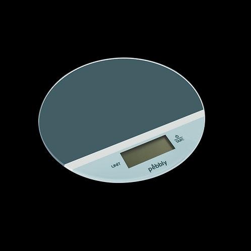 Balança eléct. p/ cozinha super fina c/ 18.5 cm de diâmetro