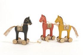 Cavalo de madeira S surtido
