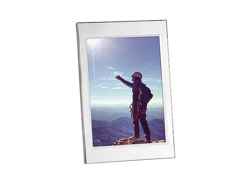 Moldura em inox para fotos 13x18cm