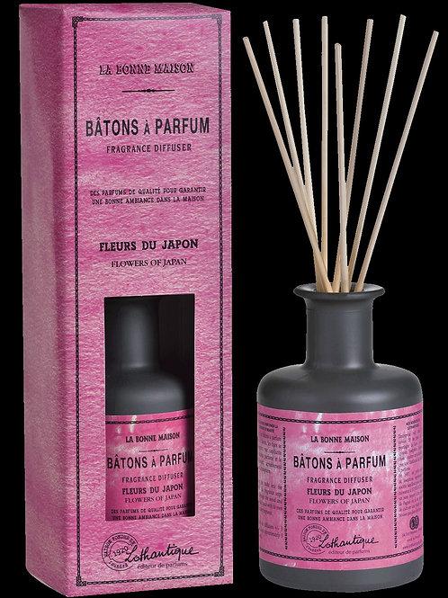 Batons a parfum 200ml Fleurs du Japon 85º
