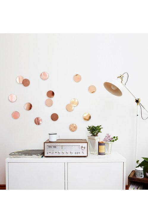 Decoração de parede, em cobre