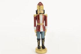 Soldado vermelho com 19 cm alt.