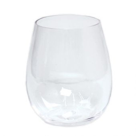 Set 6 copos de vinho em acrilico