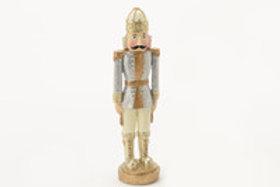 Soldado prateado com 19 cm alt.