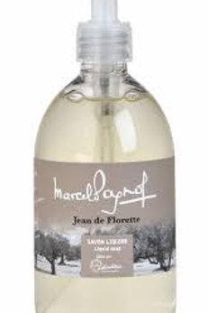Sabonete liquido, 500ml, Jean de Florette