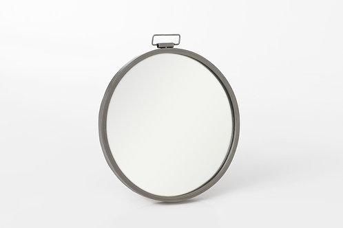 Espelho em zinco com 35x31 cm