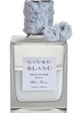 Óleo de banho, 450ml, Givre Blanc