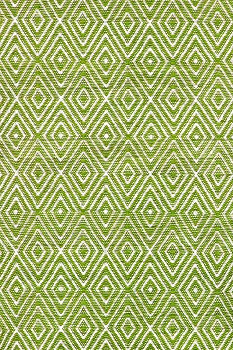 Tapete indoor / outdoor, verde e branco