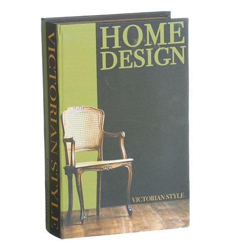 Cx livro Design, com 27x27x7cm