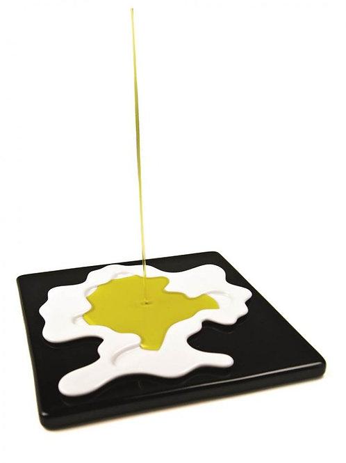 Prato para degustar o azeite
