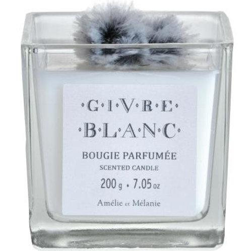 Vela perfumada, 200g, Givre Blanc