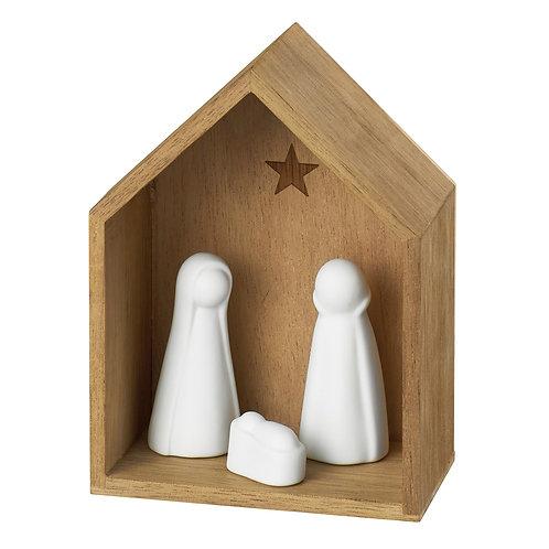 Presépio 3 figuras (pequeno)