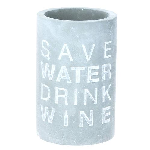 Garrafeira save water com 21 cm alt.