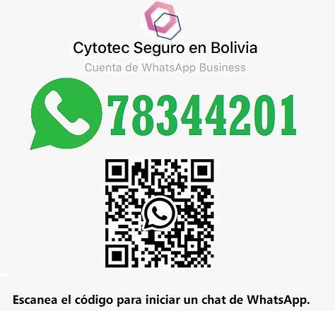 Contacto Cytotec Bolivia