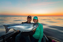 Friends, sunrises, and angry salmon - Th