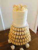 Cake and Macaron tower