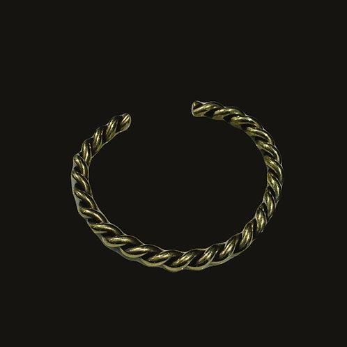 Esclava entorchada bronce