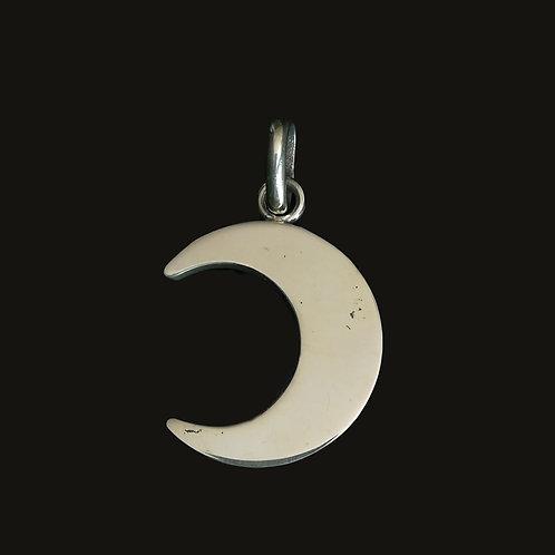Colgante Luna L Bronce