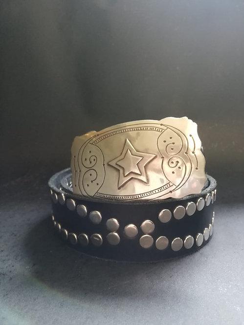 Cinturón Star Black