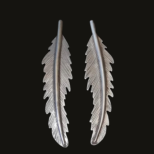 Aros Pluma M Silver