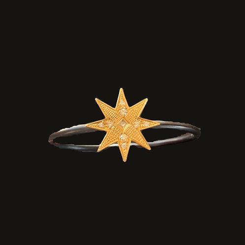 Esclava Estrella Black/Gold