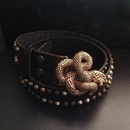 Cinturón Serpiente dorada