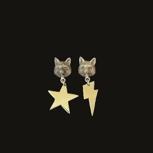 Aros Zorro Estrella/ Rayo Bronce