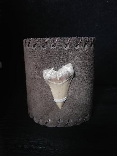 Pulsera diente  Cuero