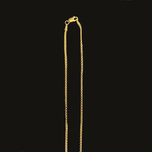 Cadena Box S 40 cms Goldfilled