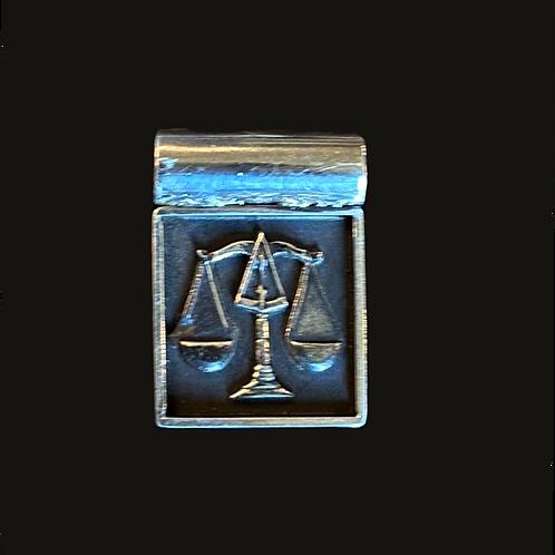 Colgante Libra silver