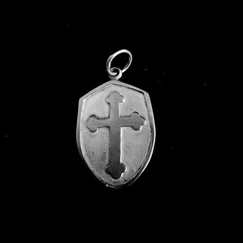 Cruz Medieval Silver S