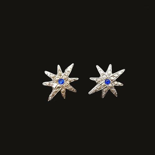 Aros Estrellas Silver