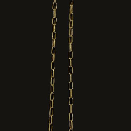 Cadena 1/2 Caña Bronce 90 cms