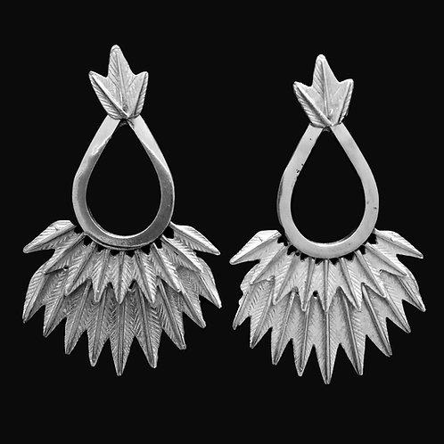 Aros Etnicos Silver