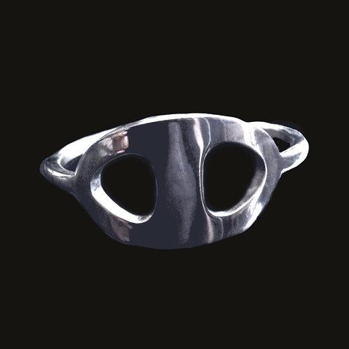 Esclava Eslabón Marino Silver