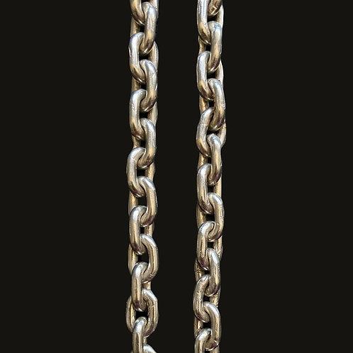 Cadena Limada XL 80cms Silver