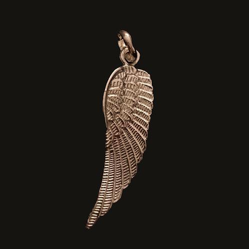 Ala Angel Bronce Baño de Oro