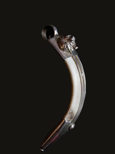 Colgante Jabalí León XL Silver