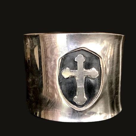 Esclava Cruz Medieval Silver