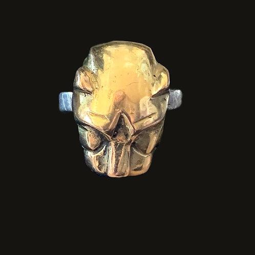 Anillo Pantera Silver/Gold
