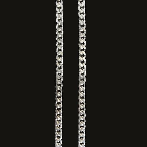 Cadena Grumet S 70 cms Silver