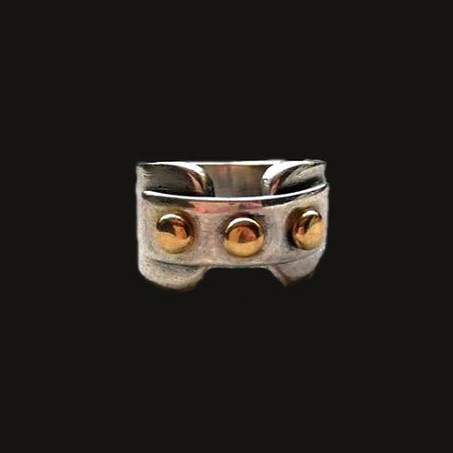 Anillo Bolitas Silver